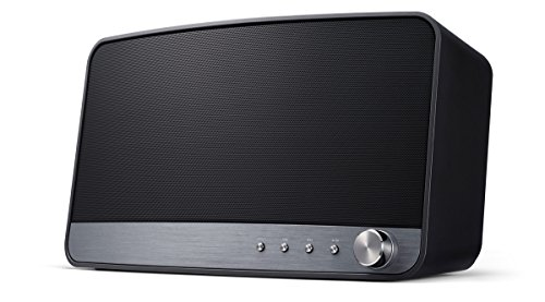 Pioneer MRX-3-B Wireless Multiroom Lautsprecher (Streaming, WLAN, Bluetooth, Musik Apps mit FlareConnect, DTS Play-Fi, Internetradio, Pioneer Remote-App) Schwarz