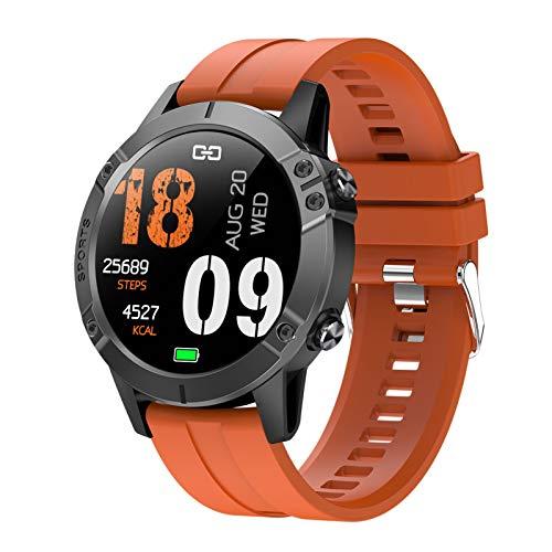 BNMY Smartwatch, Reloj Inteligentecon Impermeable IP67 con Pulsómetro Cronómetros, Calorías Monitor De Sueño Podómetro Pulsera Pulsómetros Hombre Y Mujer Reloj Deportivo para Android iOS,B