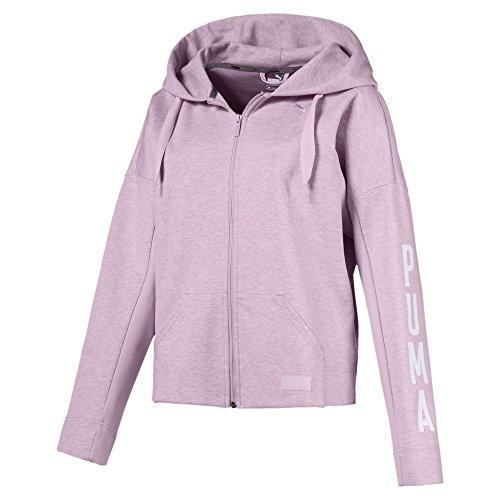 Preisvergleich Produktbild PUMA Damen Fusion FZ Sweatshirt,  Winsome Orchid Heather,  XS