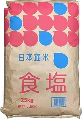 日本海水 食塩 25kg (讃岐工場)