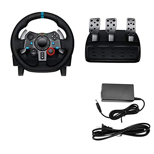 WSMLA Playstation 3 Driving Force GT Racing Wheel Jeu Flight Joystick USB Vibration Ordinateur PC Simulation Flight Control Manipulateur Applicable Système Windows XP/Vista / 7/8/10