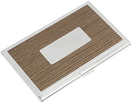 Holz Rechteck-Korn-Detail Kredit-ID-Namenskarten-Kasten-Halter