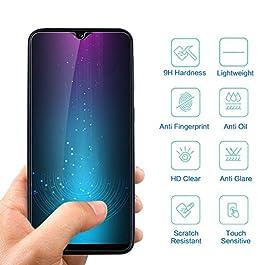 Hanbee Verre Trempé Samsung A20e [3 Pièces], Protection ecran Samsung A20e en Verre Trempé écran Protecteur vitre [Coque Compatible] Protection ecran Samsung Galaxy A20e