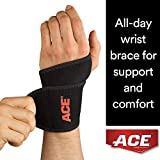 ACE Adjustable Wrist Support, Money Back Guarantee, Black
