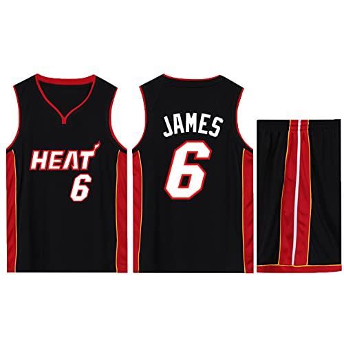 Space 2 Movie - Camiseta de baloncesto para hombre, diseño de Los Ángeles sin mangas, camiseta de baloncesto No. 6 Movie Lakers No. 23 Heat Cavaliers, e, 5X-Large