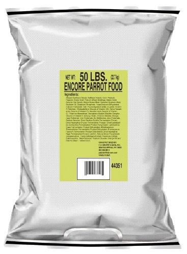 F.M. Brown'S Encore Premium Parrot Bird Food, 50-Pound