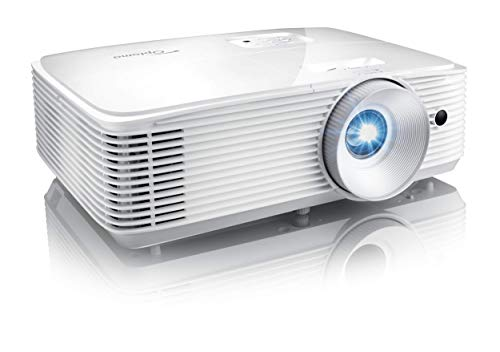 Optoma HD28HDR 1080p Home Theater Projector for Gaming and Movies | Support for 4K Input | HDR Compatible | 120Hz refresh rate | Enhanced Gaming Mode, 8.4ms Response Time | 4000 Lumens (Renewed)