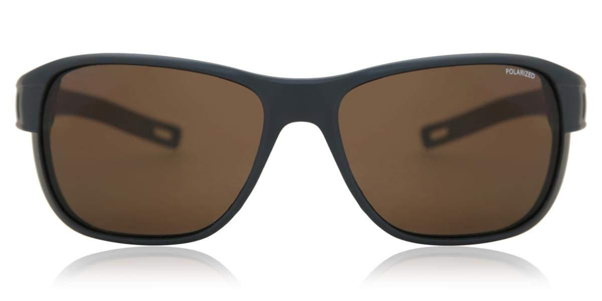 Julbo J5019412 Sonnenbrille für Erwachsene, Unisex, Dunkelblau Matt/Schwarz, L