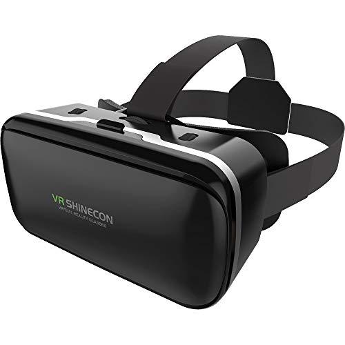 Tuzi Qiuge 3D-Videobrille Universal-Virtual-Reality for Smartphones 4,5-6 Zoll QiuGe