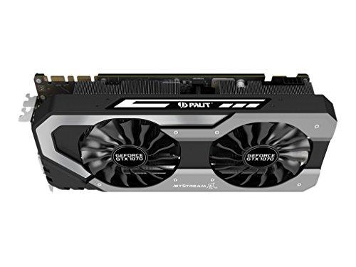 Palit GF GTX 1070, PCI Express x16 3.0, 8GB GDDR5, 256 Bits, NE51070015P2J (x16 3.0, 8GB GDDR5, 256 Bits, 3 x DisplayPort, 1 x HDMI,)