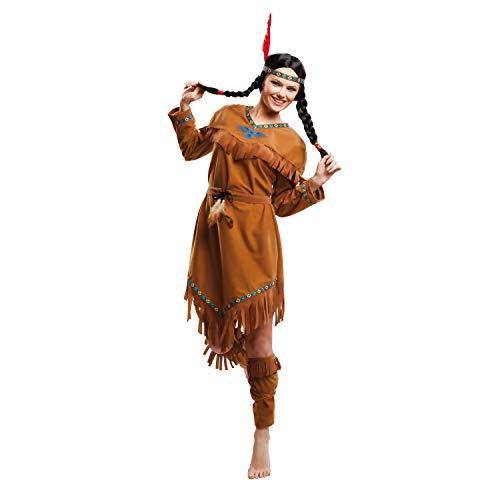My Other Me Me-203392 Disfraz de india velvet para mujer, M-L (Viving Costumes 203392)