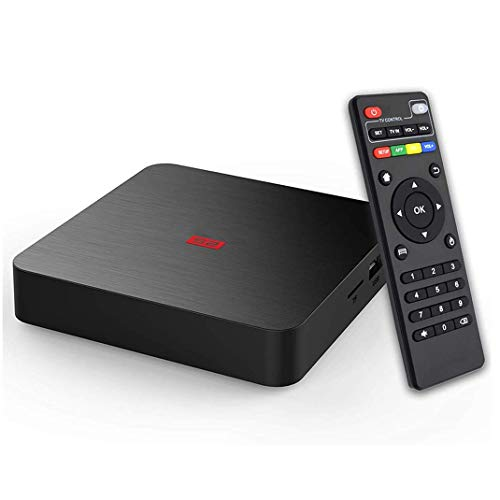 Android 7.1 TV Box,Flymiro Smart TV Box with 2GB RAM/16GB ROM Amlogic S905W Quad Core Support H.265 HDMI HD 4K WiFi 2.4G Android Box