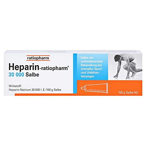 Heparin ratiopharm 30.000 Salbe, 100 g