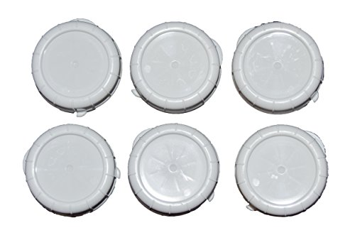 Replacement Caps for Stan-pac & Libbey Milk Bottles- All Sizes (6, 48 MM)