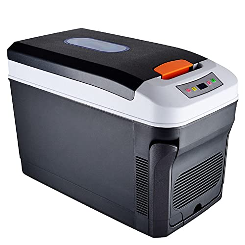Yangyang Leichte Kompressor-Kühlbox 12/24V und 230V elektrischer Mini-Kühlschrank für Camping, Auto oder LKW mit Steckdose und USB-Anschluss