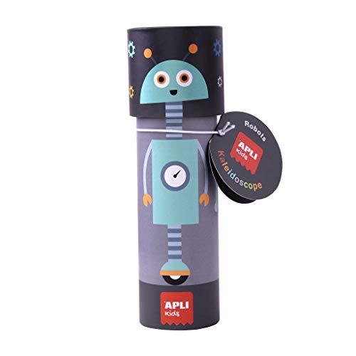 APLI Kids- Caleidoscopio Robots 18740-Caleidoscopio mágico Modelo, Juguete Educativo Infantil (18740)