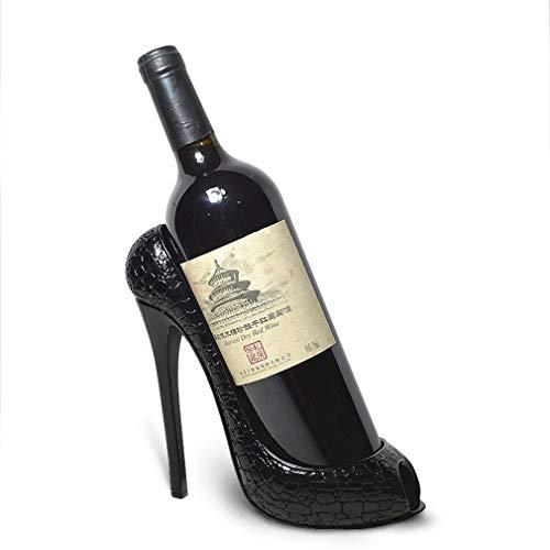 CCLLA Weinregal High Heel Schuhform Weinflaschenhalter Stilvolle Accessoires für Wohnkultur (Größe: 22 * 9,5 * 19 cm) (Farbe: # 2)