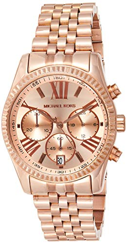 Michael Kors Women's MK5569 Lexington Rose Gold-Tone Stainless Steel Watch