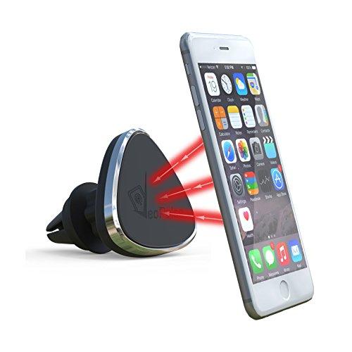 VeoPulse Supporto da Auto Magnetico Nero - Porta Cellulare - (Compatibile con i telefoni iPhone,Samsung Galaxy, Note,HTC,Nokia,Nexus,LG, Huawei.)