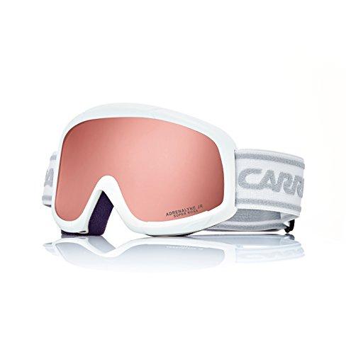 Carrera Kinder Skibrille Adrenalyne Jr, White Matte