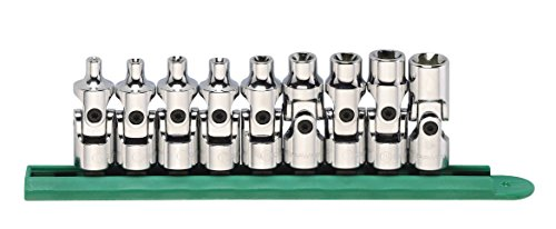 GEARWRENCH 9 Pc. 3/8' Drive Universal External Torx Socket Set - 80985