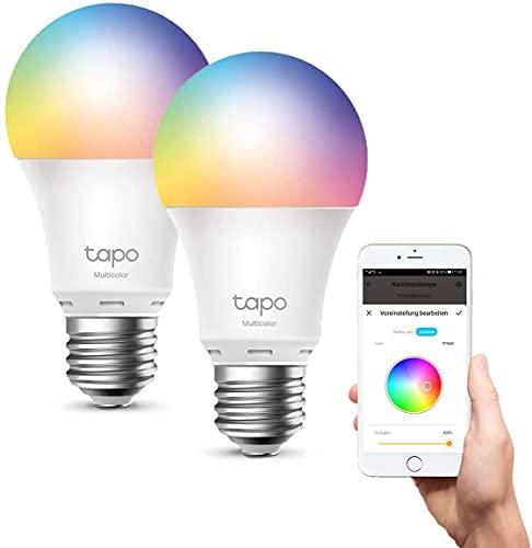 TP-Link Ampoule Connectée, Ampoule LED 8.7W 806Lm, RGBCW...