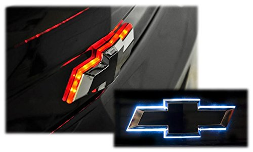 Price comparison product image Illuminated DUAL COLOR Rear Trunklid Bowtie LED Light Compatible with Chevy Camaro 2010-2013