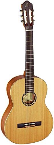 ORTEGA Classical Guitar Family Series Pro 44 Incluye funda Mástil delgado NT Cedro naturalR131SN