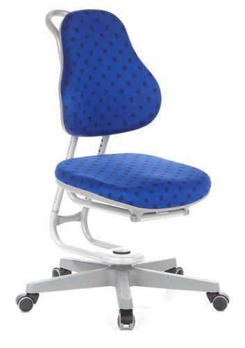Rovo Chair Kinderschreibtischstuhl/Kinderstuhl Buggy Stoff blau gepunktet