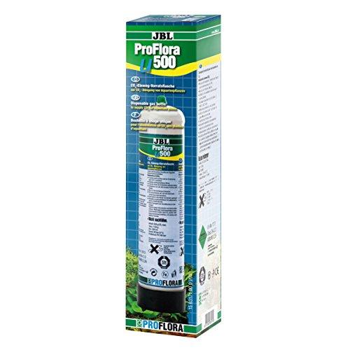 JBL Pro Flora u500 63174 CO2-Einweg-Vorratsflasche, mit 500 g, CO2