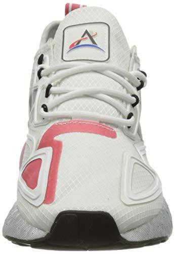 adidas ZX 2K Boost W, Zapatillas Deportivas Mujer, FTWR White Silver Met Hazy Rose, 36 EU