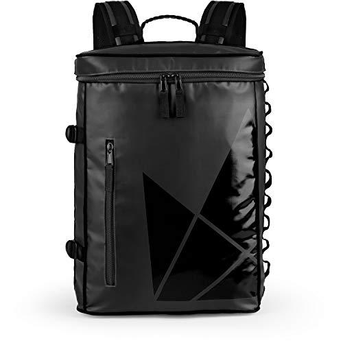 The Friendly Swede Sportlicher Rucksack mit Laptopfach 13 Zoll, Wasserabweisend, von Oben beladbar, Geräumig 20 L, städtischer Tagesrucksack, Fahrradrucksack - SVIA