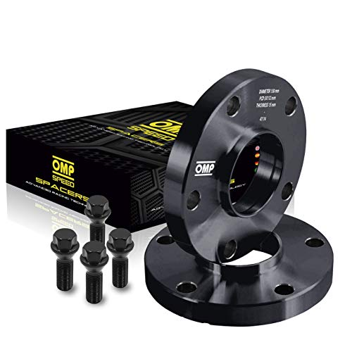 OMP SPEED SET SEPARADORES OMP 15MM 5X112 57.1 M14X1.5 CONIC+14X1.5 BALL