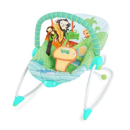 Bright Starts 60127 - Mecedora y silla reclinable 3-en-1