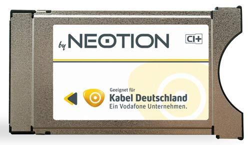 Kabel Deutschland CI+ Modul für G03 & G09 Karte - Smart Cards - Kabel Deutschland Sender - Vodafone - Kabelfernsehn - Kabel TV - CI plus Modul von Neotion - HD Sender