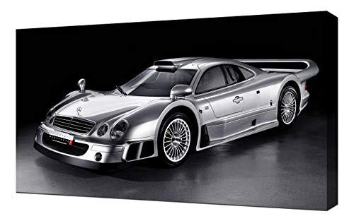 Lilarama 1999-Mercedes-Benz-CLK-GTR-V1-1080 - Art Leinwandbild - Kunstdrucke - Gemälde Wandbilder