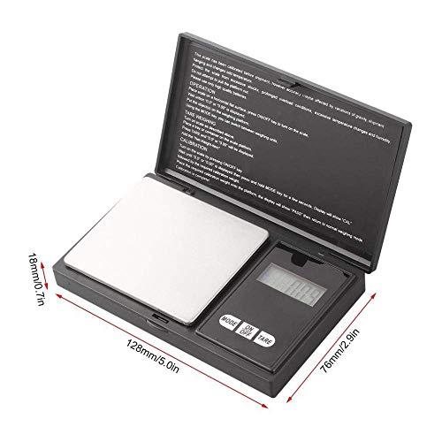 Mini balanza Básculas de joyería de Bolsillo 1Pcs Mini 100G X 0.01G Joyería electrónica Gold gram Balance gram Báscula Digital de Bolsillo Báscula Digital Joyería