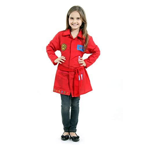 DPA Infantil Sulamericana Fantasias Vermelho M 6/8 Anos