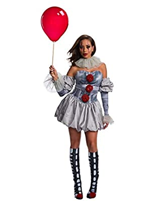 Rubie's IT Movie Women's Deluxe Pennywise Costume