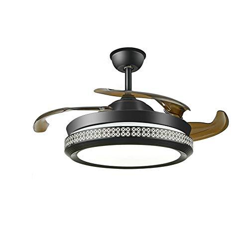 Ventilador de techo con iluminación y mando a distancia (100 cm)