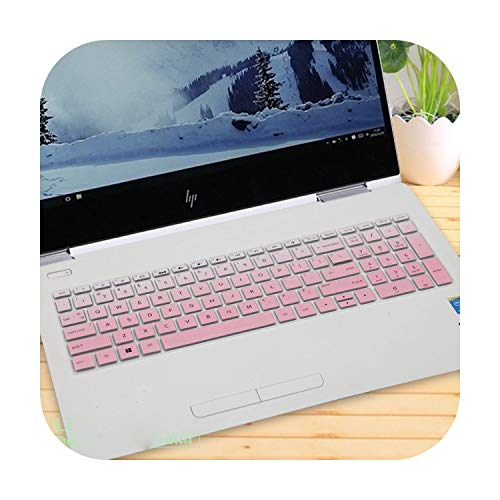 Keyboard Cover Protector 15.6 Inch For Hp Pavilion 15 15-cx0001la 15-cx0058wm 15-cx0073nw 15-cx0046nf 15-cx0027ur 15-Cx Series-fadepink-