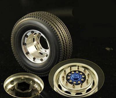 Dedication DNKKQ 1 14 Max 61% OFF Tractor Trailer Lock Hub Unpower Alloy Wheel Aluminum
