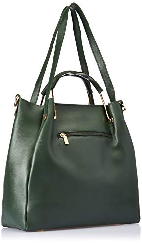 Venosa Amazon Women's Shoulder with Pouch and Sling Bag (Bottle Green) (Set of 3)