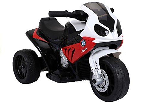 BSD Elektromotorrad für Kinder Elektrisch Ride On Kinderfahrzeug Elektroauto Motorrad - BMW S1000RR - Rot