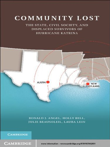 Community Lost: The State, Civil Society, and Displaced Survivors of Hurricane Katrina (English Edition)