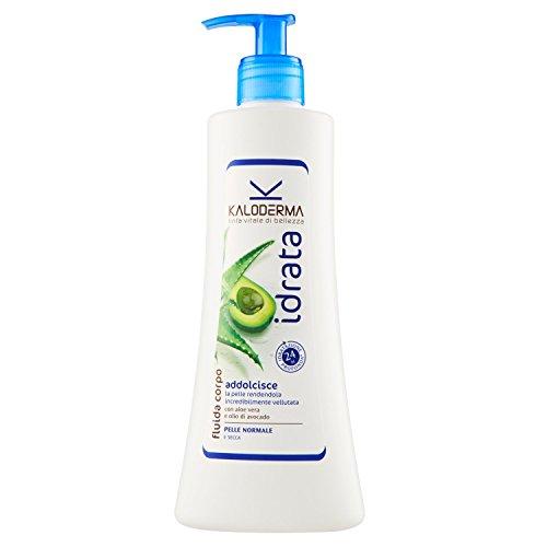 Kaloderma - Fluida Corpo, Crema per Pelle Normale, Tendente al Secco - 400 ml