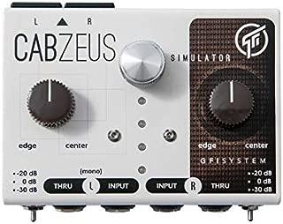 GFI Systems Cabzeus Stereo Speaker Simulator + DI Box