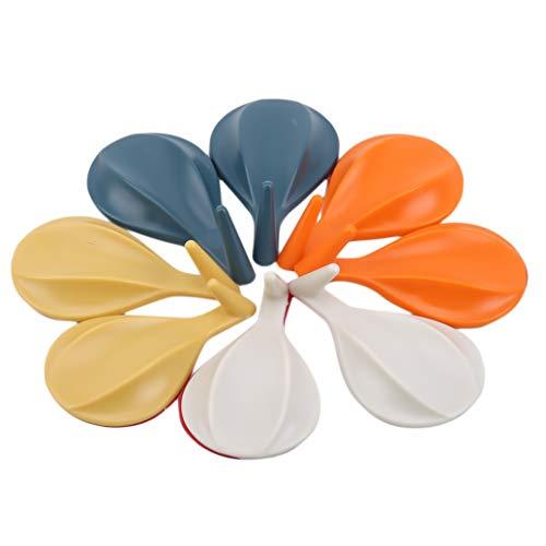 JKLBNM 8 PC/Satz Luftballon geformten Adhesive Haken Haushalt Nail freies Badezimmer Küche Powerful Haken