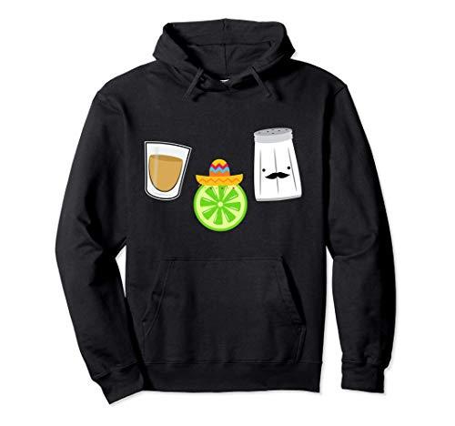 Salz Zitrone Schnaps Mexiko Sombrero Party Hoodie Pullover Hoodie