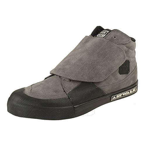 Airwalk Vic Grey Suede Schuhe Größe US 11,5